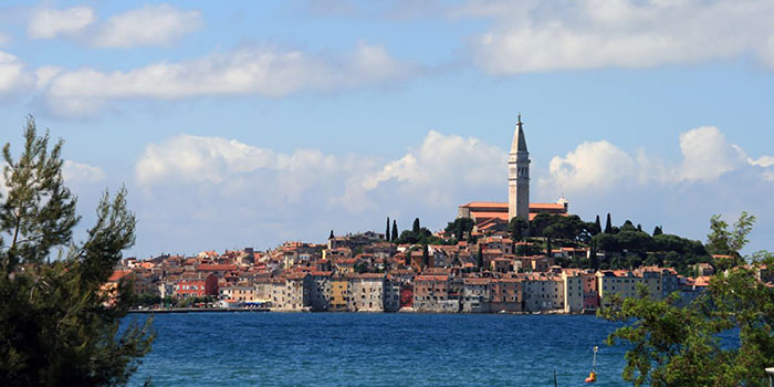 Rovinj Croatia bay